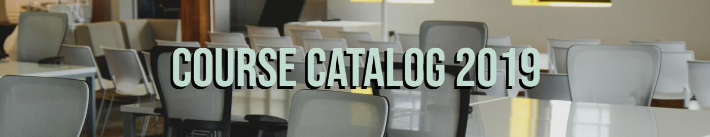Course Catalog 2019